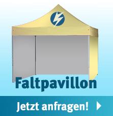 Individuell bedruckter Faltpavillon